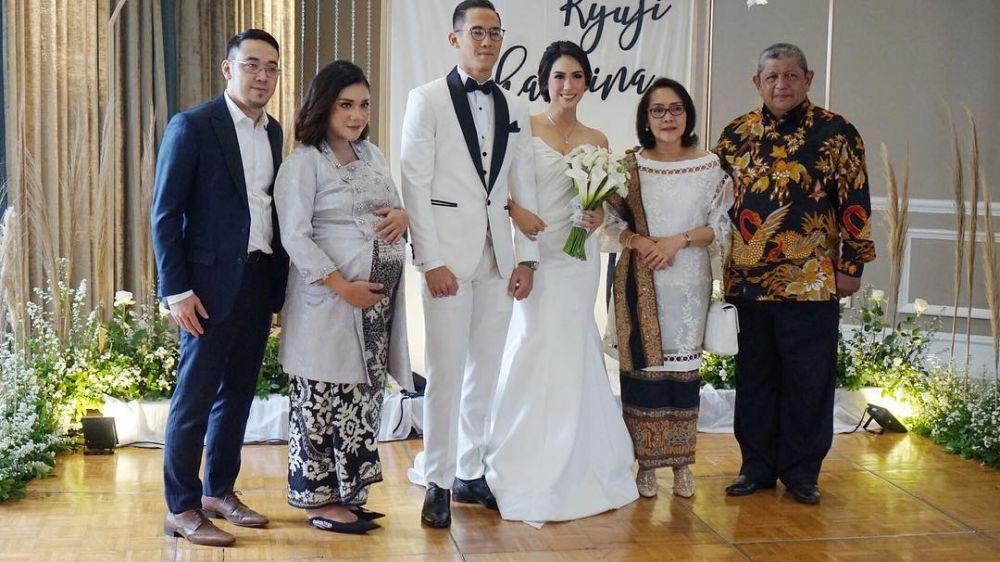 pernikahan Ryuji dan Shabrina © 2019 brilio.net