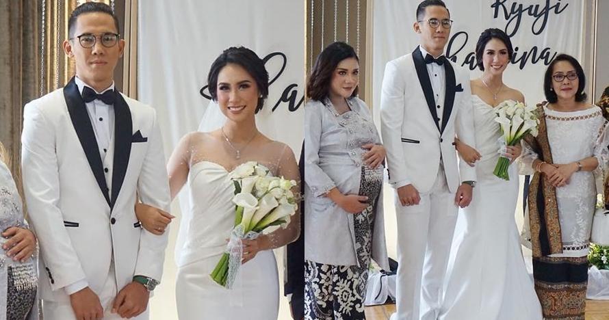 11 Momen pernikahan Ryuji Utomo dan Shabrina Ayu, serba putih