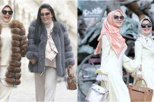 10 Foto Syahrini dan Aisyahrani kembaran baju, bukti selalu kompak
