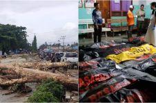 15 Potret banjir Sentani ini bikin hati tersayat, 49 orang meninggal