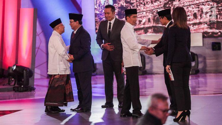 Ini saran Jokowi untuk Ma'ruf Amin terkait debat cawapres