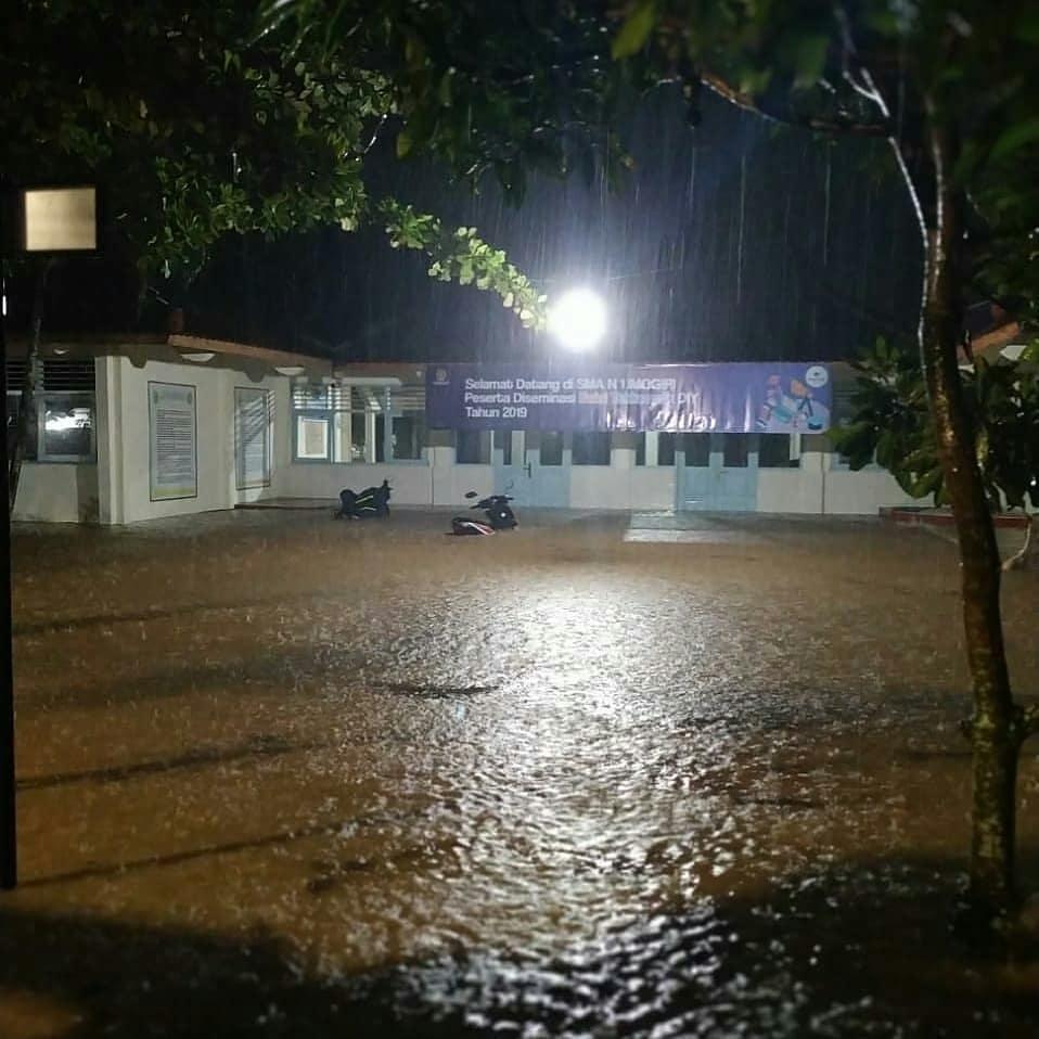 banjir Jogja  © 2019 brilio.net