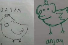 6 Gambar lucu gabungan dua hewan ini ngawur tapi bikin ngakak