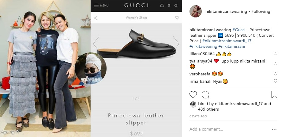 sepatu nikita Instagram