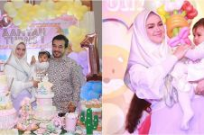 15 Momen ulang tahun anak Siti Nurhaliza, bertema sirkus unik