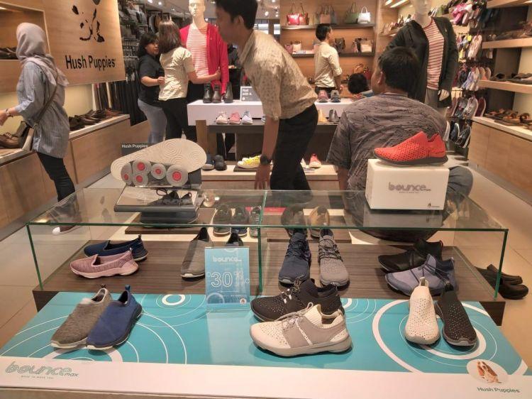 Gunakan teknologi bounce, sepatu ini nyaman untuk berbagai fungsi