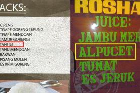 12 Kesalahan di tulisan menu makanan ini bikin mikir dua kali