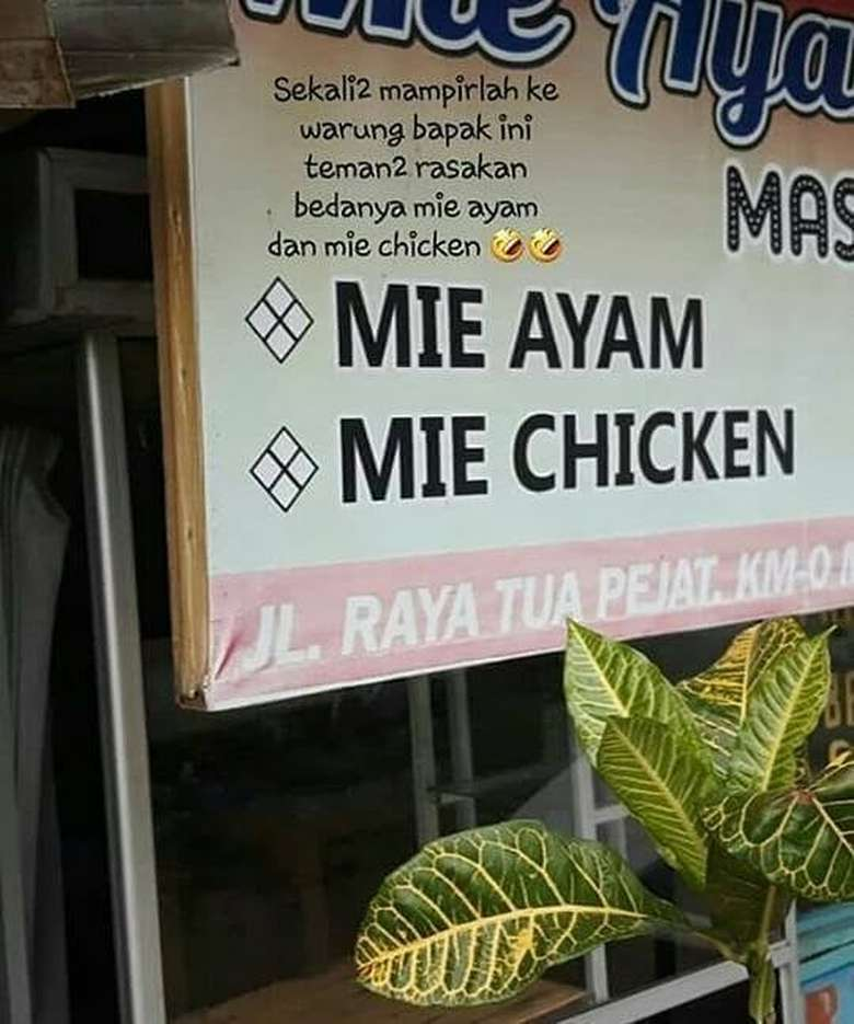 kesalahan menu makanan © 2019 berbagai sumber