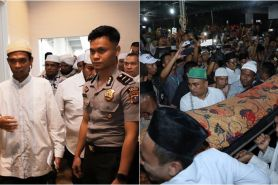 12 Momen pemakaman ibunda Ustaz Abdul Somad, penuh haru