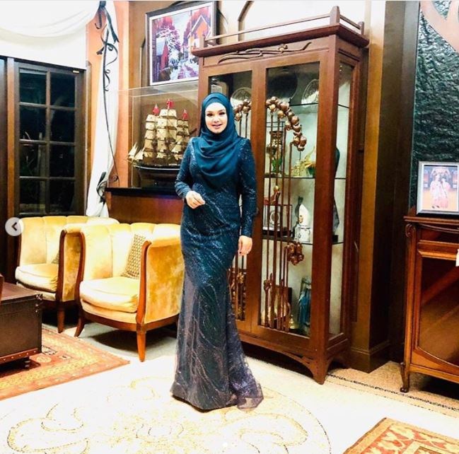 rumah Siti Nurhaliza  © 2019 brilio.net