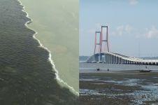 Viral air laut jembatan Suramadu tak menyatu, ini penyebabnya