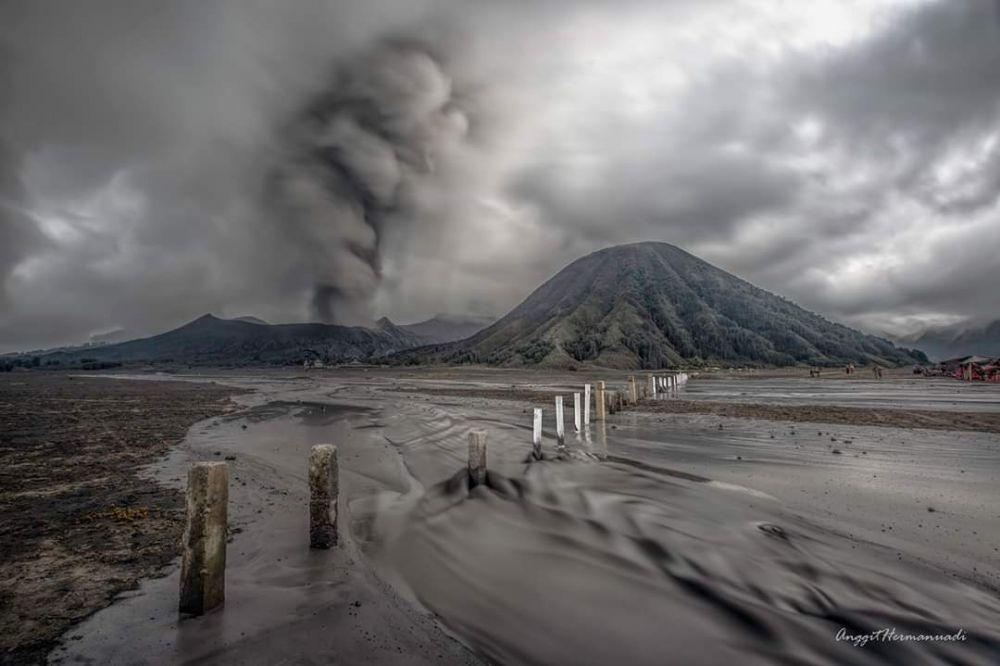 panorama gunung bromo © 2019 brilio.net