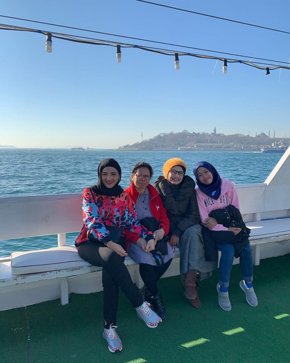 Anang-Ashanty di Turki  © 2019 brilio.net
