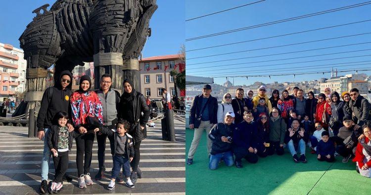12 Foto liburan keluarga Anang di Turki, Ashanty tampil berhijab
