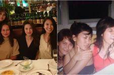 10 Foto jadul Luna Maya dan sahabat, penuh kenangan