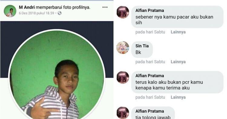 Kisah bocah dapat pacar di Facebook ini viral, drama banget