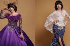 7 Potret Lucinta Luna kenakan busana pengantin adat Jawa