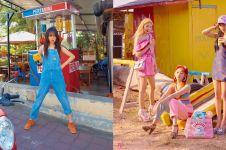 Gaya 8 seleb cantik Korea pemotretan di Bali, memesona abis