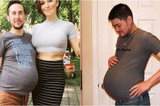10 Potret transgender hamil ini bikin melongo