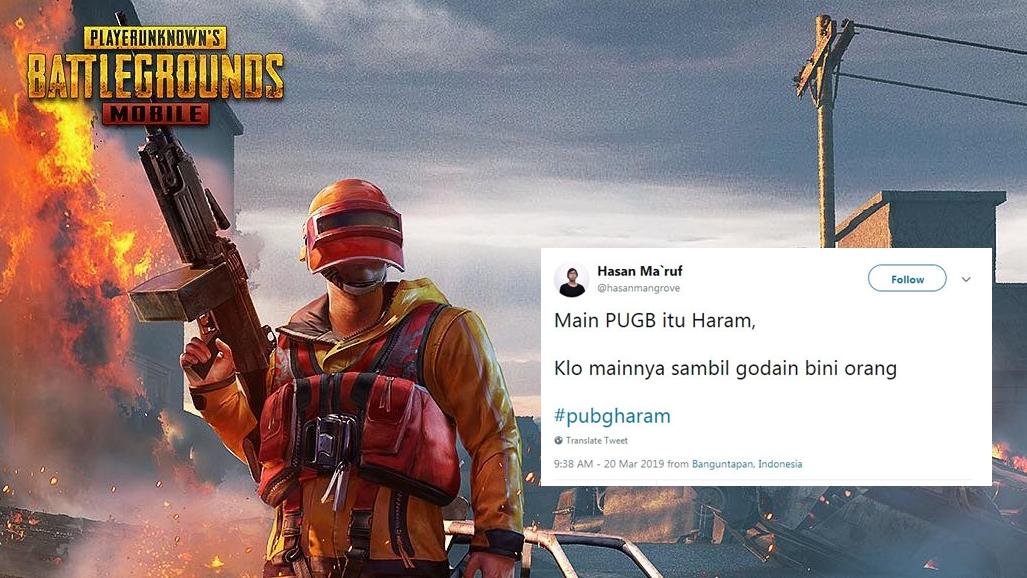 10 Cuitan lucu 'PUBG Haram' ini kocaknya bikin pengen nampol