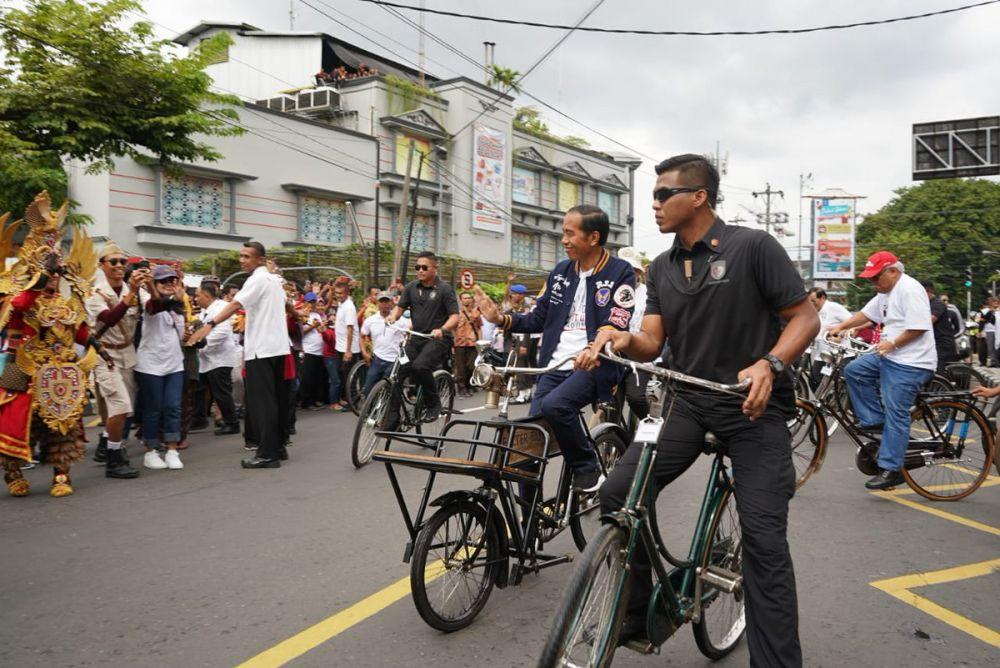 Jokowi di Jogja  © 2019 brilio.net