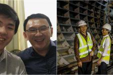 Jajal MRT, Nicholas Sean cerita pengorbanan Ahok bangun Jakarta