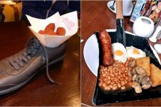 12 Wadah makanan di restoran mahal ini bikin tepuk jidat