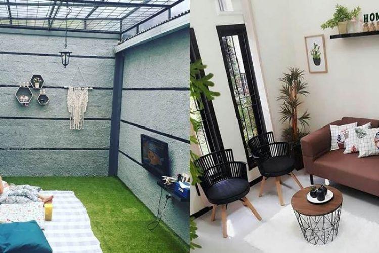 Design Dapur Menyatu Dengan Taman  20 ide desain ruang keluarga minimalis bikin rumahmu jadi cozy