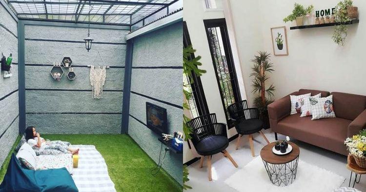 Desain Rumah Minimalis Dapur Di Depan  20 ide desain ruang keluarga minimalis bikin rumahmu jadi cozy