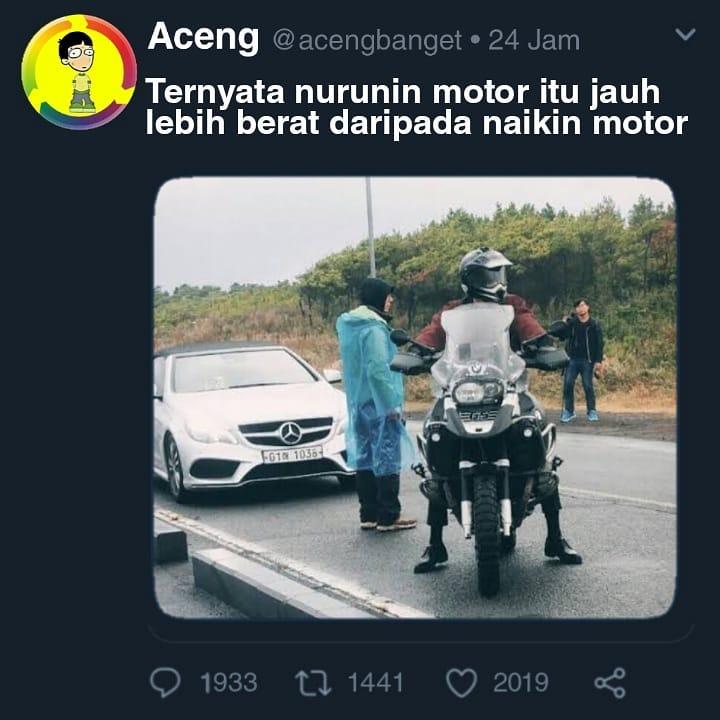 motor baru lucu © 2019 berbagai sumber