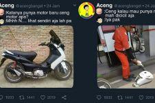 12 Meme lucu punya motor baru ini bikin auto tepuk jidat
