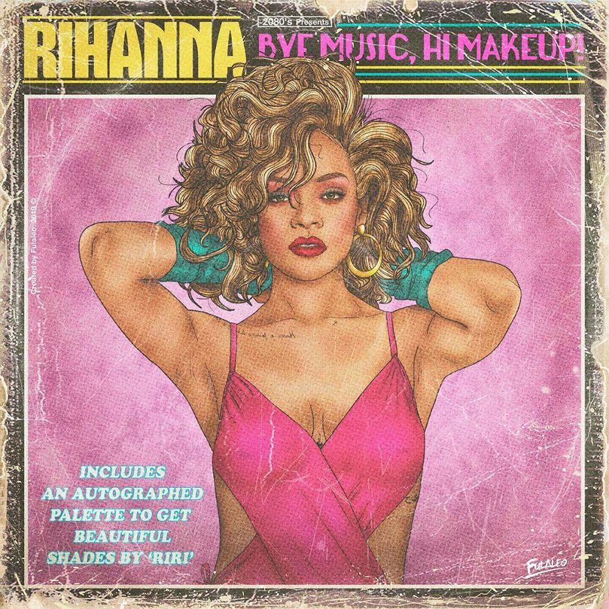 Foto musisi top dunia saat jadi cover kaset 80-an  © 2019 brilio.net