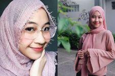 Siap bisnis hijab, ini 7 gaya jilbab Adiba Khanza yang kece abis