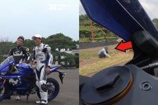 8 Penampakan di Sirkuit Sentul ini bikin kaget test rider Jepang