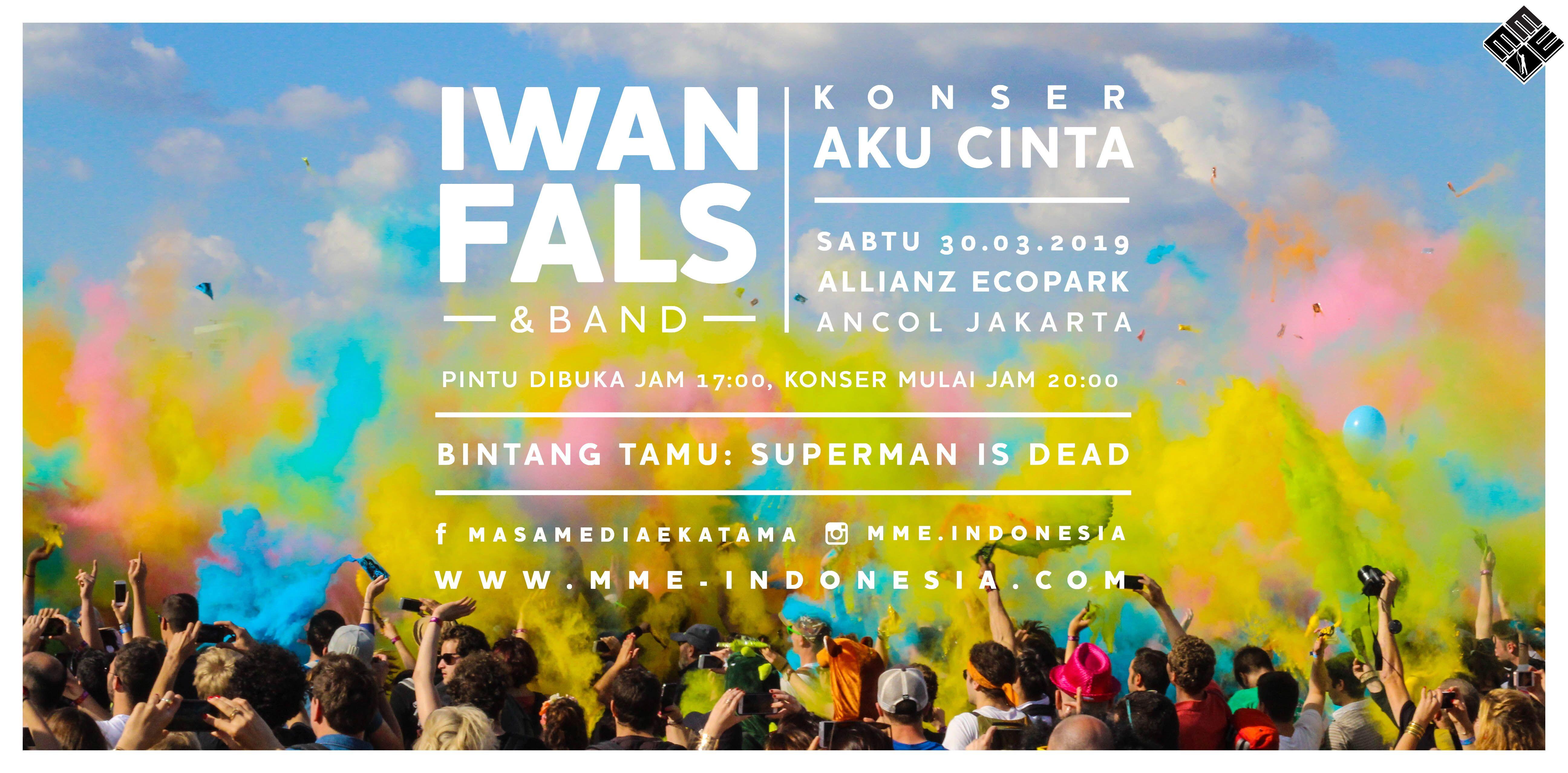 Konser Iwan Fals digelar akhir Maret, bawa pesan Bhinneka Tunggal Ika