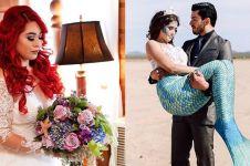 10 Inspirasi prewedding tema putri duyung, antimainstream