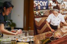 8 Beda gaya Chef Renatta & Chef Marinka saat memasak, kece siapa?