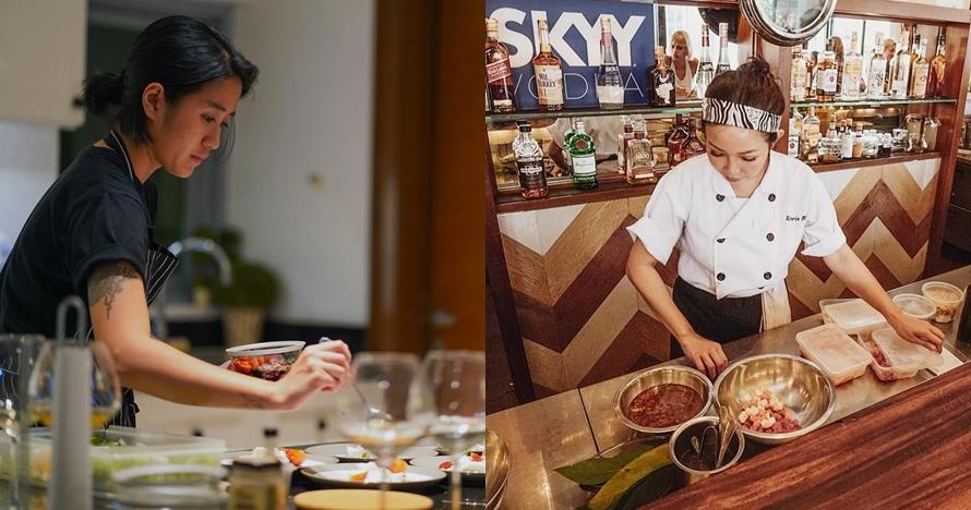 8 Beda Gaya Chef Renatta & Chef Marinka Saat Memasak, Kec