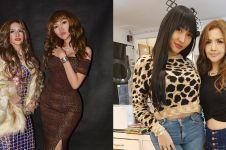 8 Potret kompak Lucinta Luna & Kumalasari, dinamai Duo Barbie