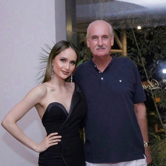 cinta laura dan ayahnya instagram