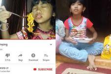 Video bohongnya viral, bocah ini akhirnya bisa makan samyang asli
