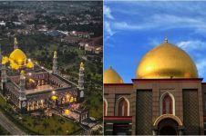 5 Fakta Masjid Kubah Emas, termegah di Asia Tenggara