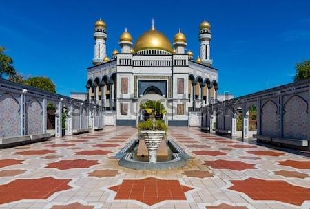 masjid berkubah emas © 2019 berbagai sumber