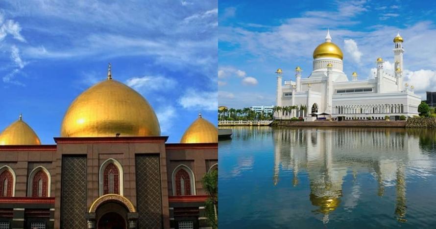 7 Masjid berlapis emas ini unik, ada Masjid Kubah Emas Depok