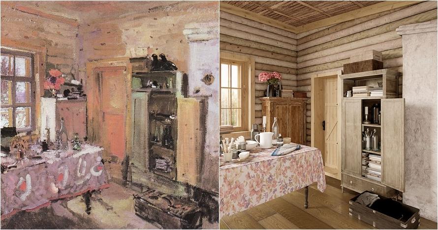 interior seperti lukisan © neomam.com