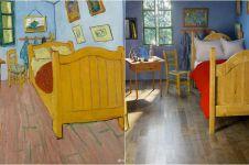 6 Interior ruangan mirip lukisan ternama, karya seni jadi nyata