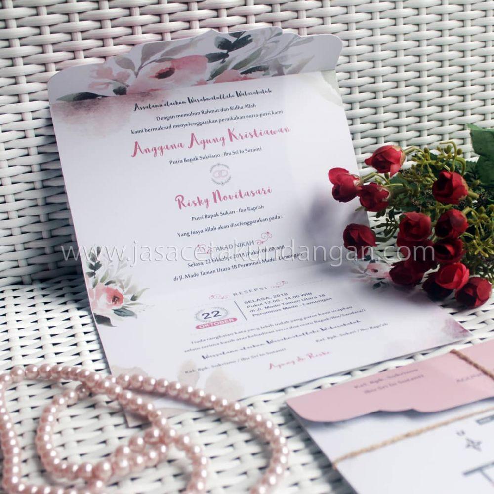 25 Desain Undangan Pernikahan Simpel Unik Dan Berkesan