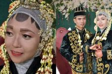 Makeup pengantin ini jauh dari ekspektasi, riasannya sederhana