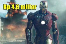 Harga 10 kostum super hero ini bikin melongo, punya Iron Man Rp 4 M