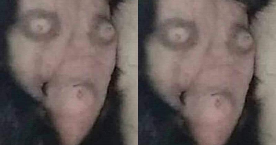 Foto mirip wajah ini serem abis, wujud aslinya nggak disangka